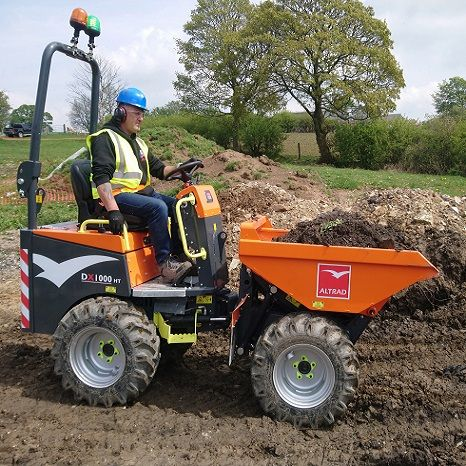 1 Tonne High Lift Dumpers For Hire